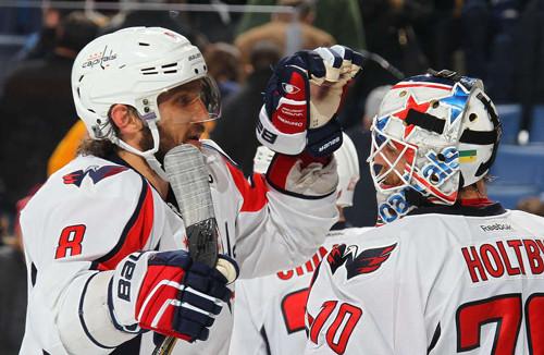 Шайба Овечкина помогла «Вашингтону» победить «Баффало» в матче НХЛ