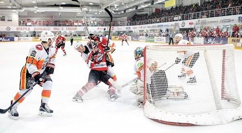 «Донбасс» в 3-й раз обыграл «Кременчук»— Хоккей